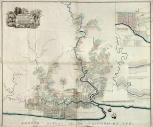 Plantagekaart (Moseberg, 1801)